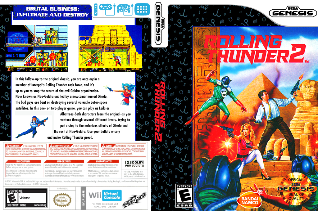 Rolling Thunder 2 Wii coverfullHQ (MBRE)