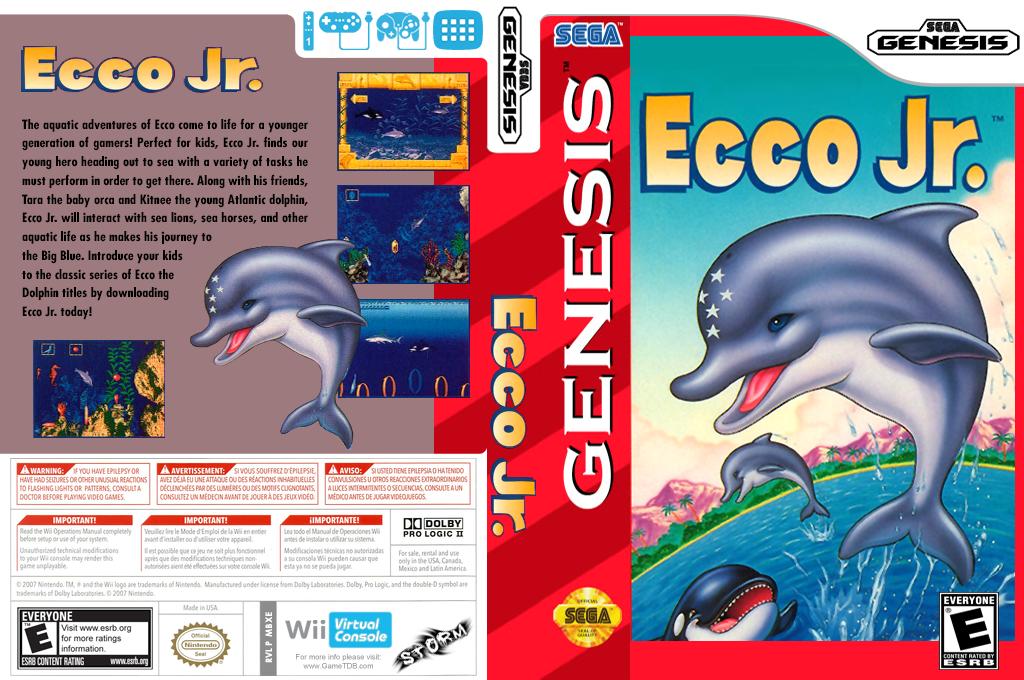 Ecco Jr. Wii coverfullHQ (MBXE)
