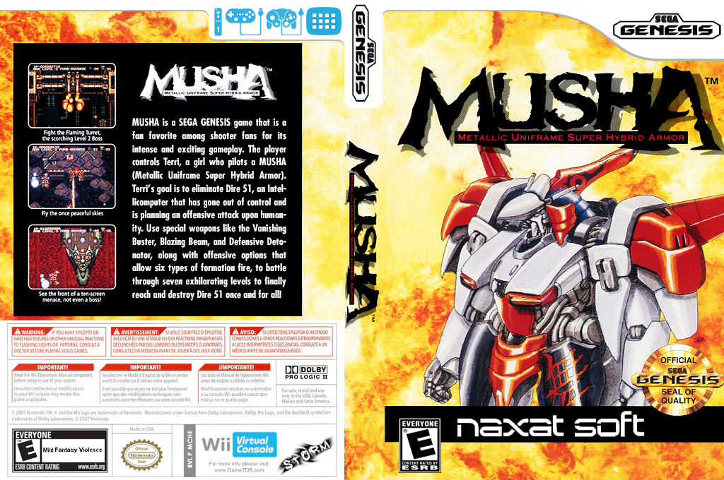 M.U.S.H.A. Wii coverfullHQ (MCHE)