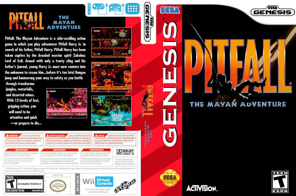 Pitfall: The Mayan Adventure Wii coverfullHQ (MCVE)