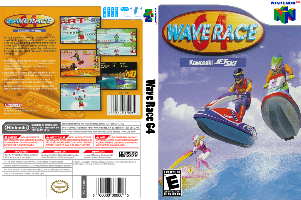 Wave Race 64 Wii coverfullHQ (NAIE)