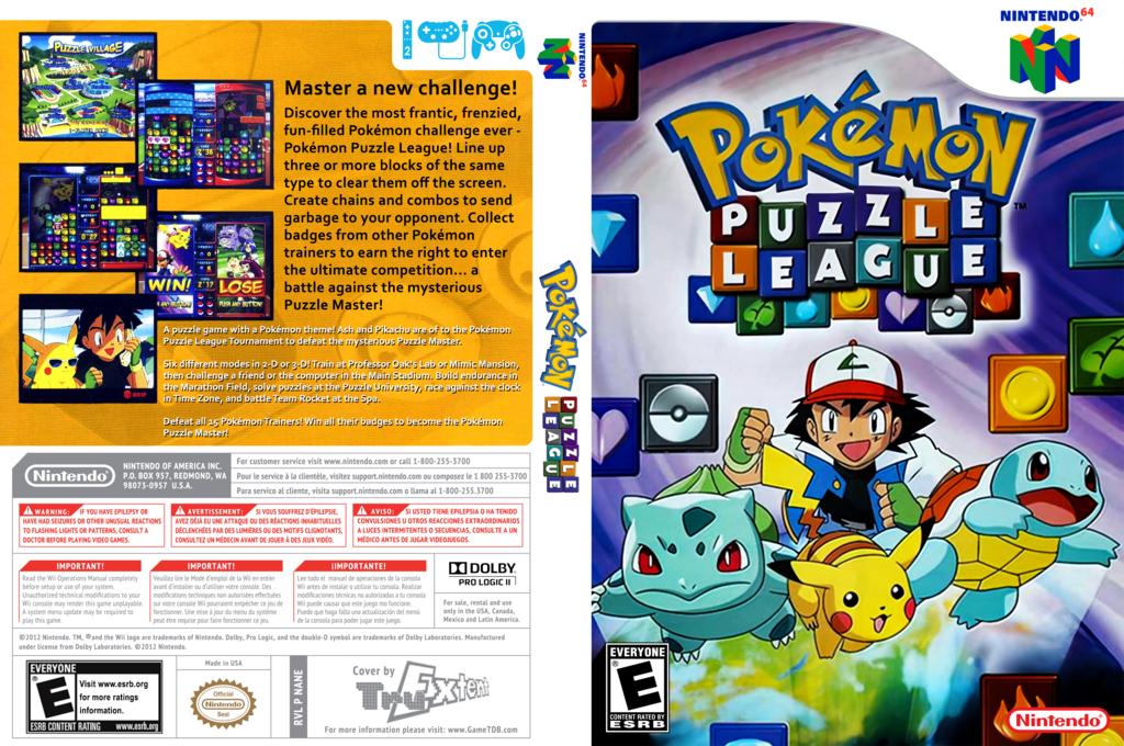 Pokémon Puzzle League Wii coverfullHQ (NANE)