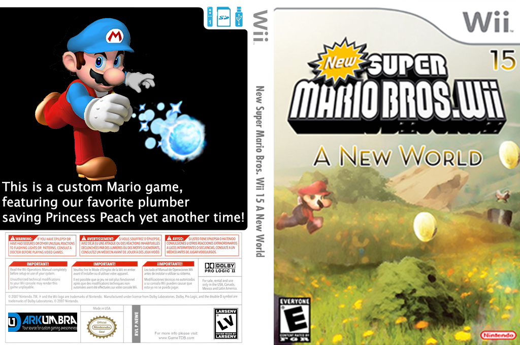 New Super Mario Bros Wii 15 A New World Wii coverfullHQ (NEWE01)