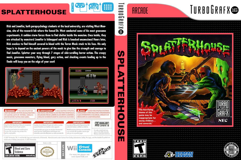 Splatterhouse Wii coverfullHQ (PA9E)