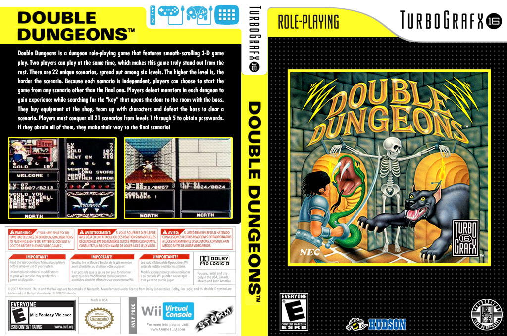 Double Dungeons Wii coverfullHQ (PBDE)