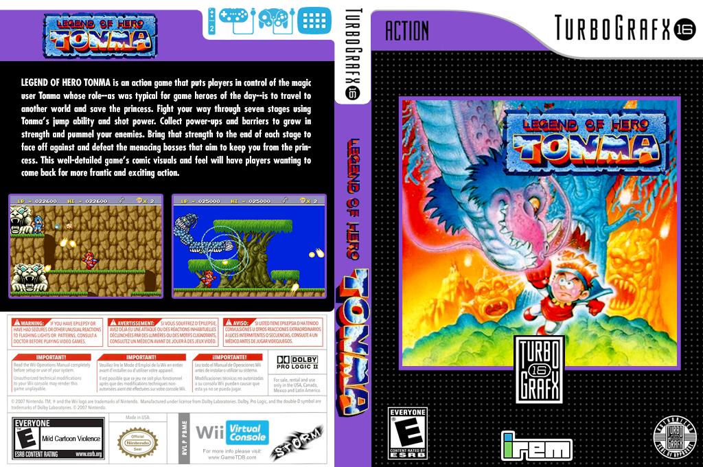 Legend of Hero Tonma Wii coverfullHQ (PBME)