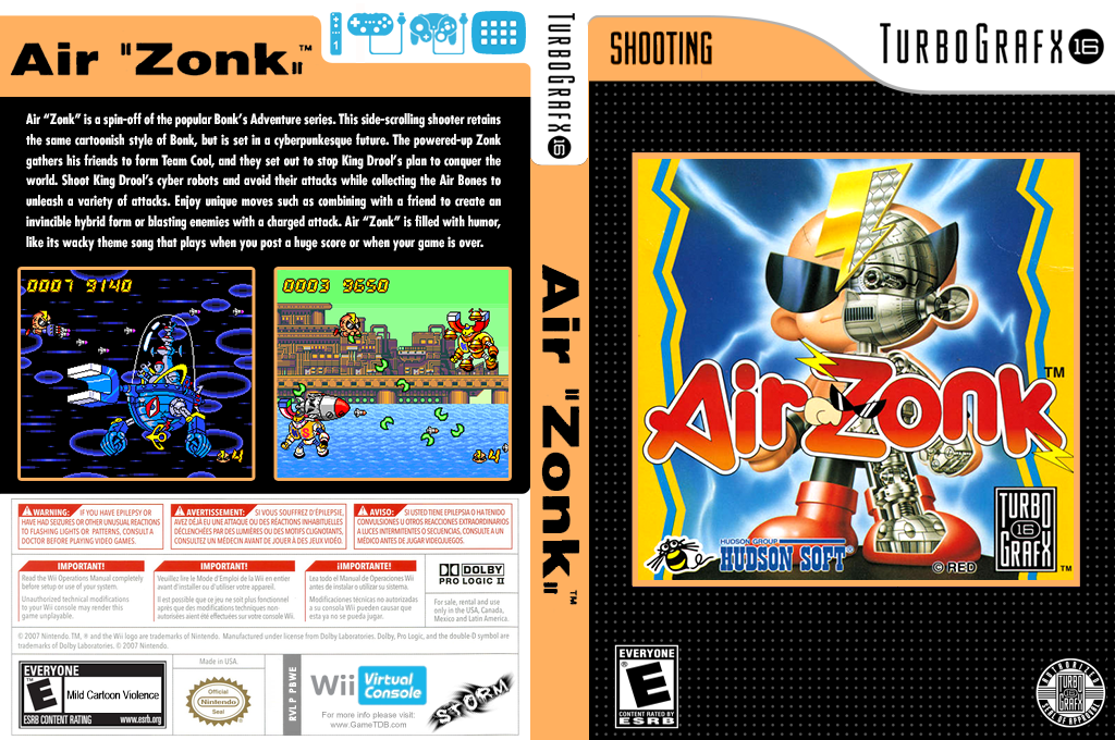"Air ""Zonk"" Wii coverfullHQ (PBWE)"