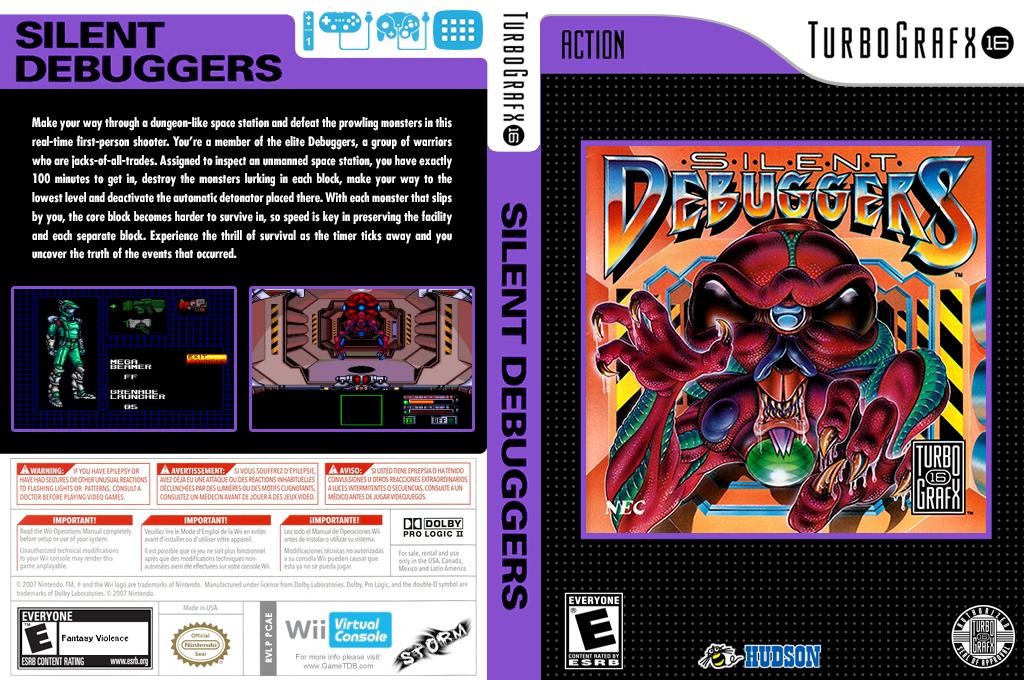 Silent Debuggers Wii coverfullHQ (PCAE)