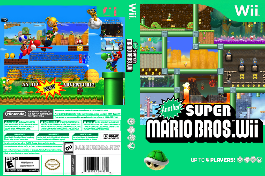 Another Super Mario Bros. Wii Wii coverfullHQ (PDUE01)
