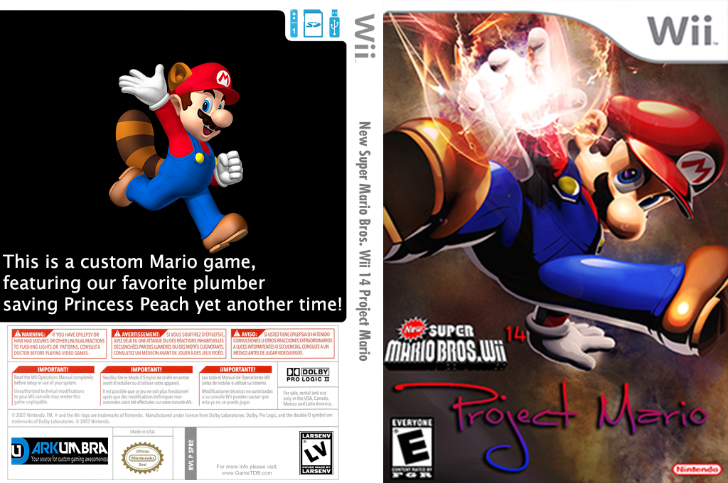 New Super Mario Bros. Wii 14 Project Mario Wii coverfullHQ (PROE01)