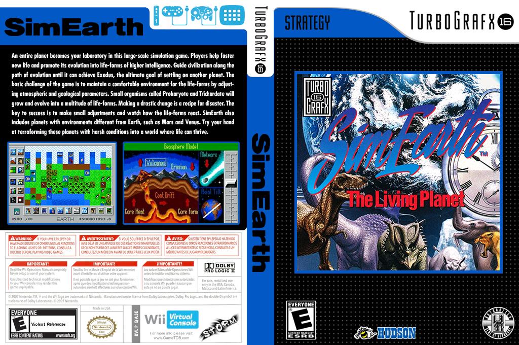 SimEarth: The Living Planet Wii coverfullHQ (QA3E)