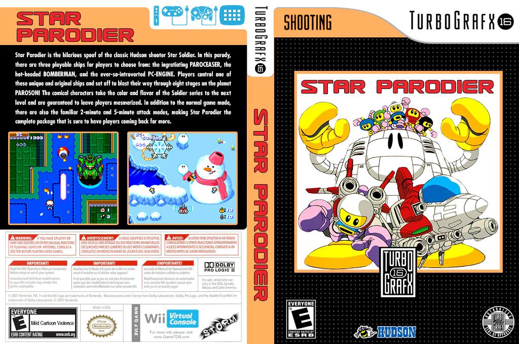 Star Parodier Wii coverfullHQ (QAWN)