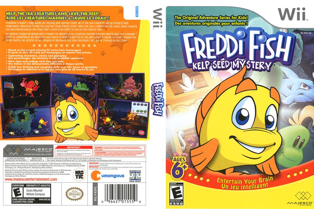 Freddi Fish: Kelp Seed Mystery Wii coverfullHQ (R2FE5G)