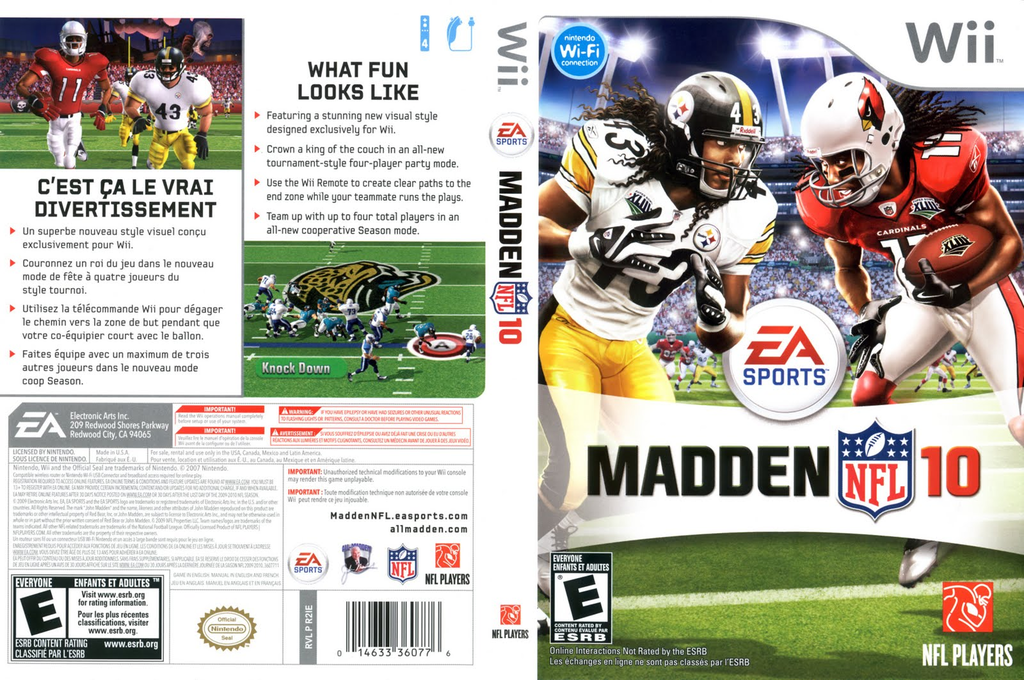 Madden NFL 10 Wii coverfullHQ (R2IE69)