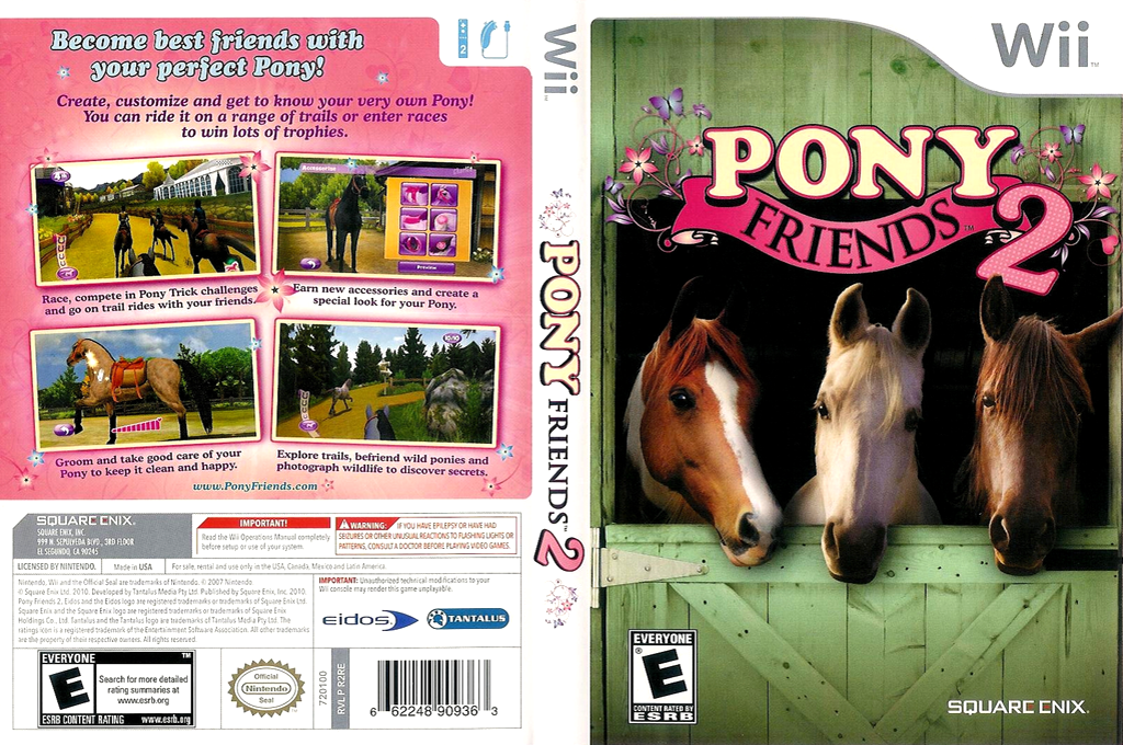 Pony Friends 2 Wii coverfullHQ (R2RE4F)