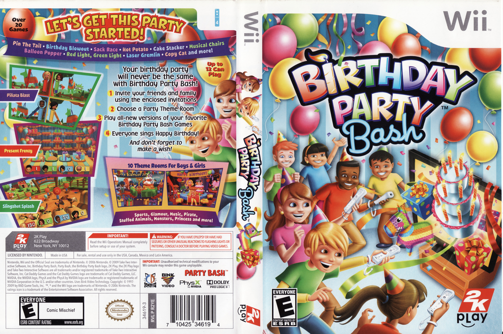 Birthday Party Bash Wii coverfullHQ (R2YE54)