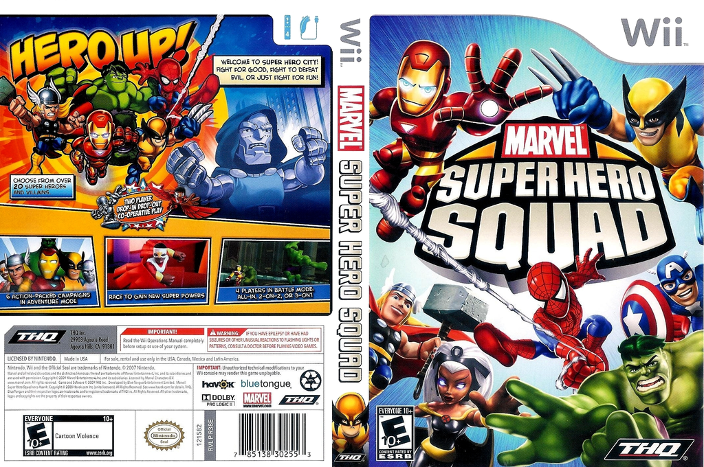 Marvel Super Hero Squad Wii coverfullHQ (R38E78)