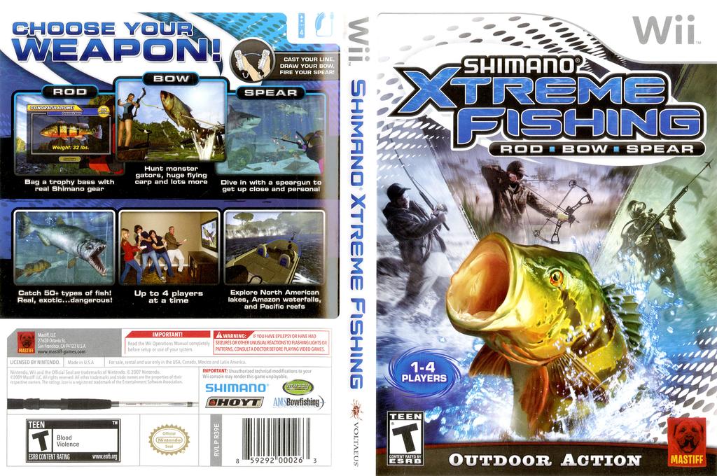 Shimano Xtreme Fishing Wii coverfullHQ (R39EFP)