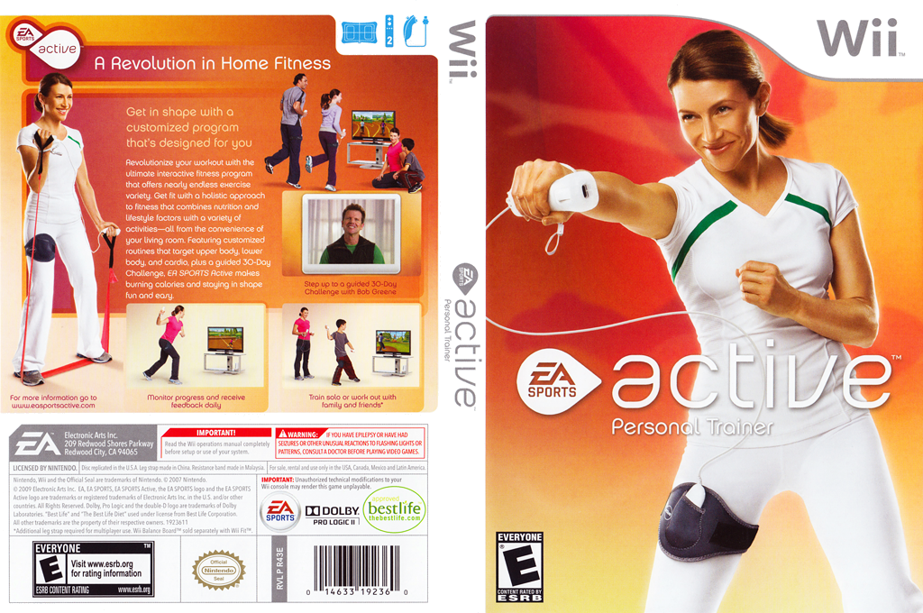 EA Sports Active: Personal Trainer Wii coverfullHQ (R43E69)