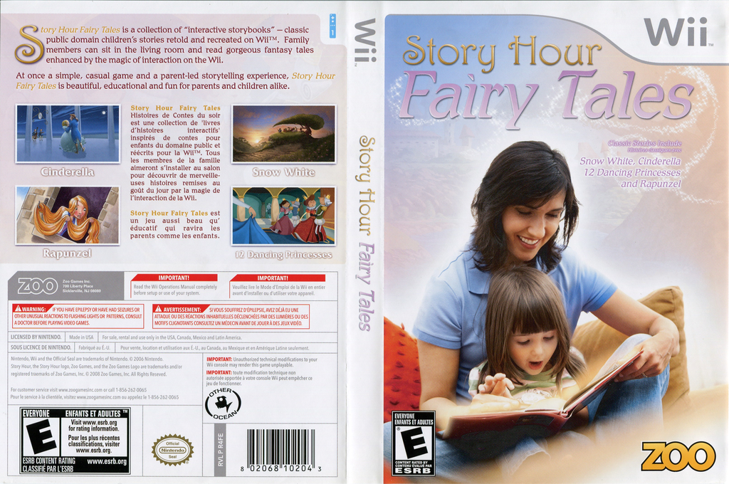 Story Hour: Fairy Tales Wii coverfullHQ (R4FE20)