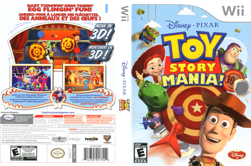 Toy Story Mania! Wii coverfullHQ (R5IE4Q)