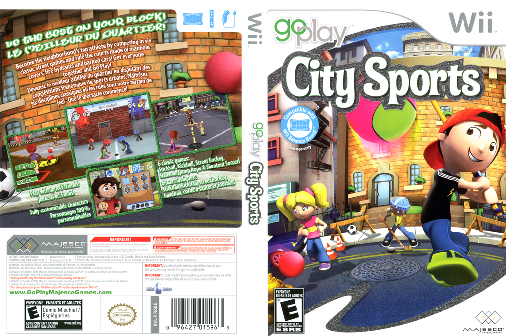 Go Play City Sports Wii coverfullHQ (R68E5G)