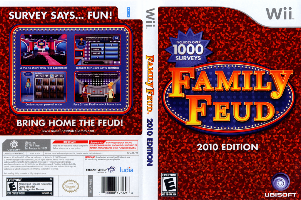 Family Feud 2010 Edition Wii coverfullHQ (R6EE41)