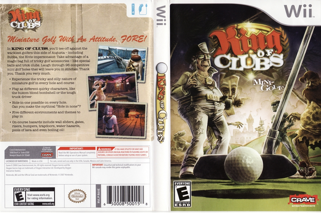 King of Clubs Wii coverfullHQ (R6VE4Z)