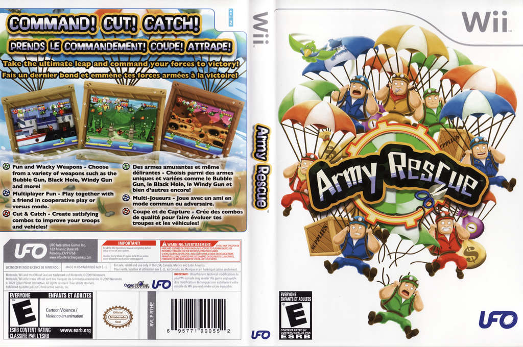 Army Rescue Wii coverfullHQ (R7HE6K)