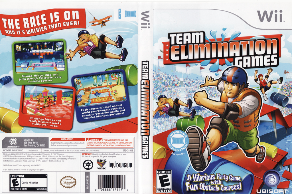 Team Elimination Games Wii coverfullHQ (R7ZE41)