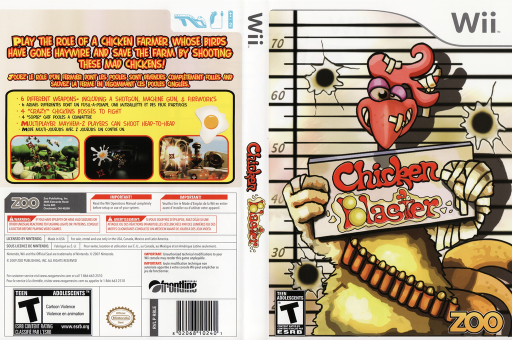 Chicken Blaster Wii coverfullHQ (R8LE20)