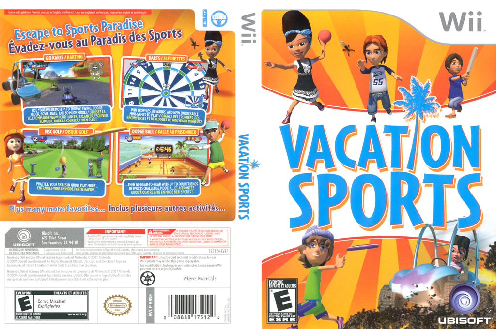 Vacation Sports Wii coverfullHQ (R8SE41)