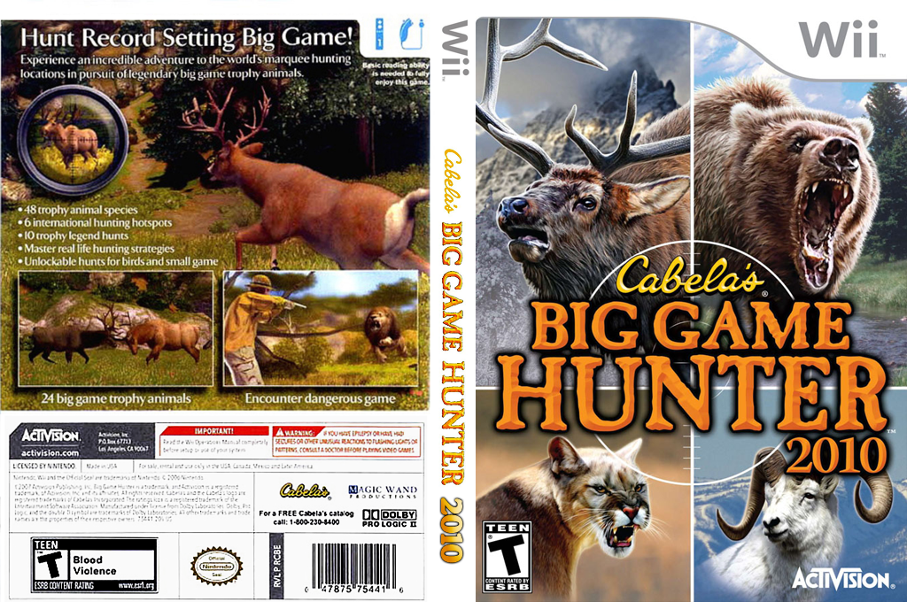 Cabela's Big Game Hunter 2010 Wii coverfullHQ (R8YE52)