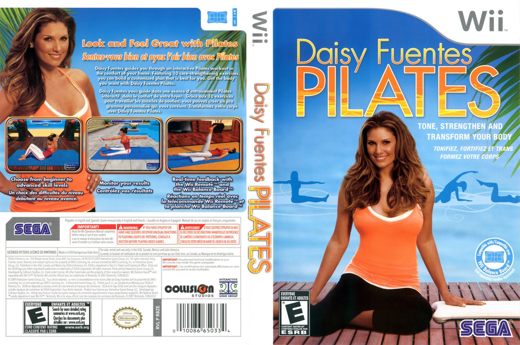 Daisy Fuentes Pilates Wii coverfullHQ (R8ZE8P)
