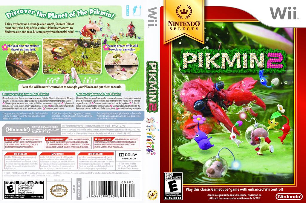 Pikmin 2 Wii coverfullHQ (R92E01)