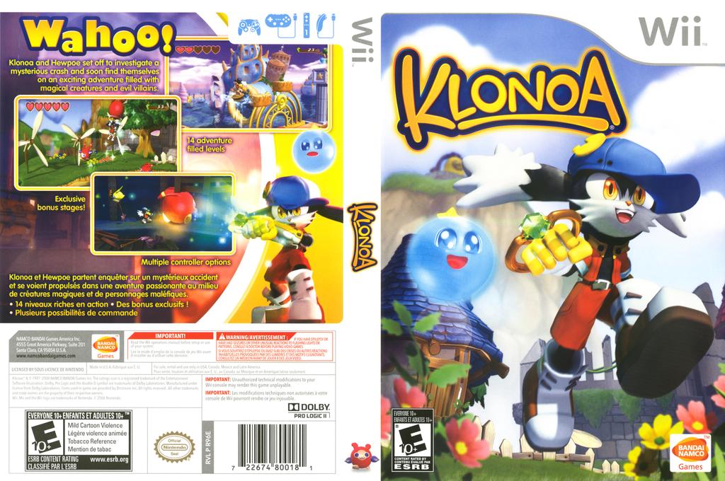 Klonoa Wii coverfullHQ (R96EAF)