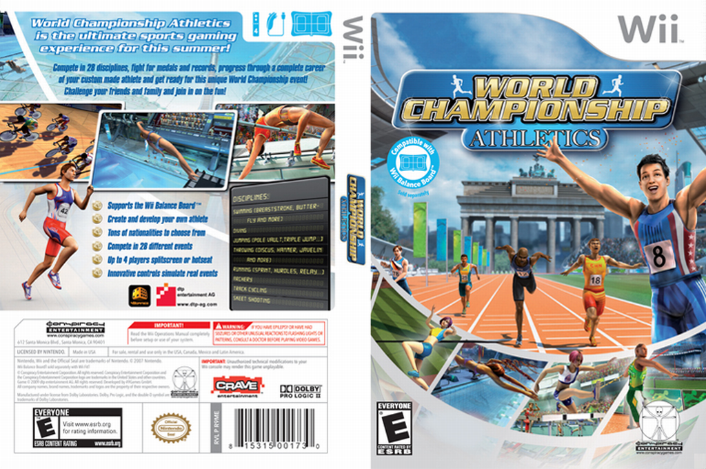 World Championship Athletics Wii coverfullHQ (R9ME5Z)