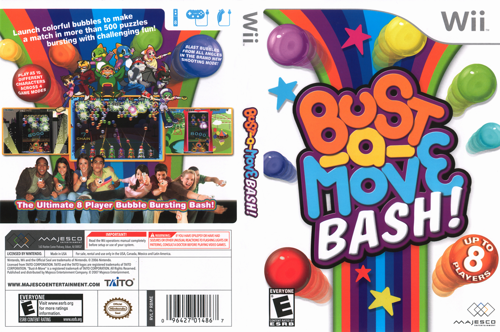 Bust-a-Move Bash! Wii coverfullHQ (RBME5G)