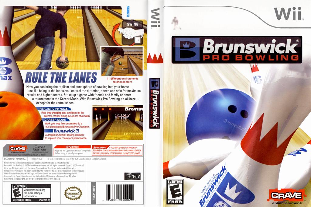 Brunswick Pro Bowling Wii coverfullHQ (RBPE4Z)