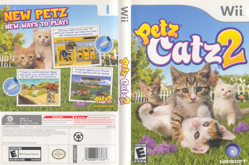 Petz Catz 2 Wii coverfullHQ (RC3E41)