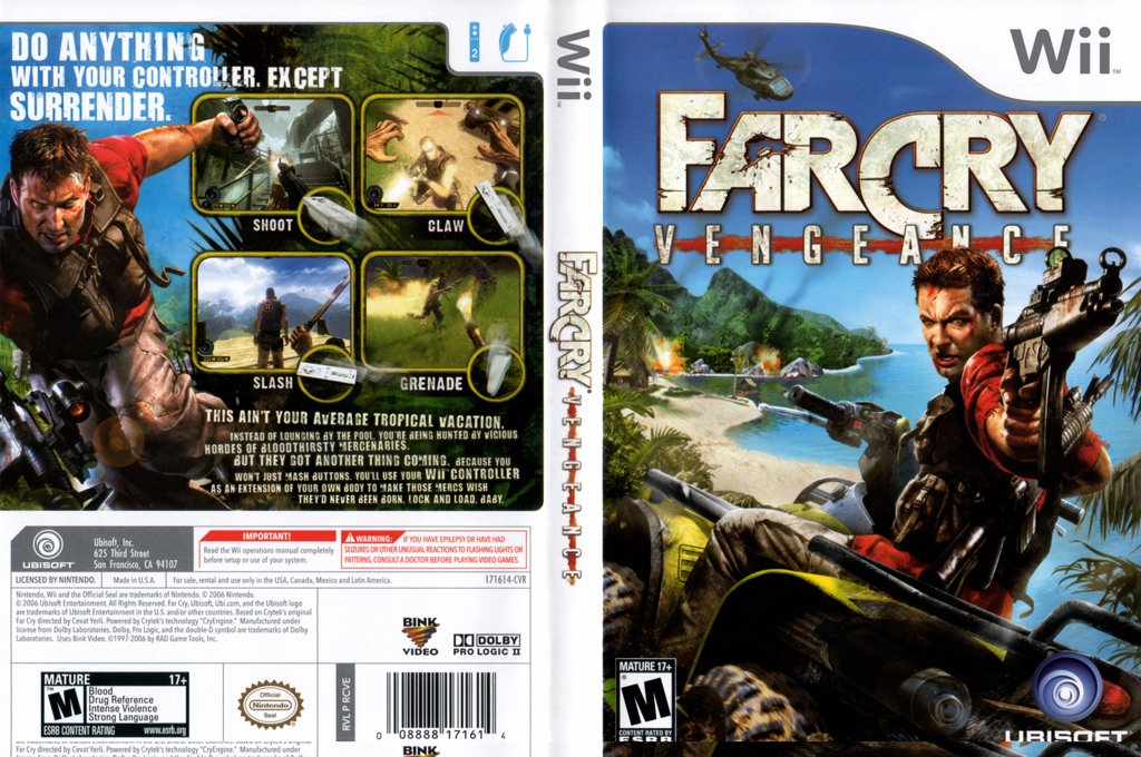 Far Cry: Vengeance Wii coverfullHQ (RCVE41)