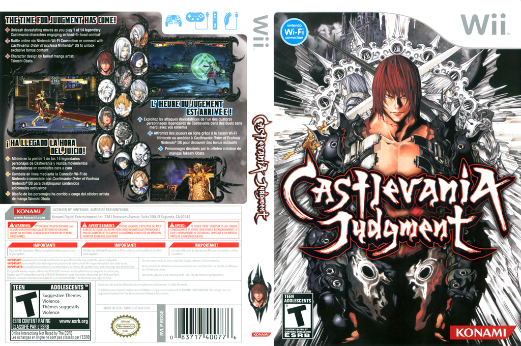 Castlevania Judgment Wii coverfullHQ (RDGEA4)
