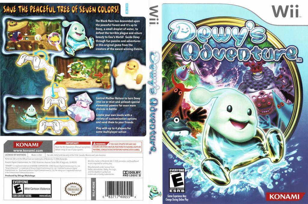 Dewy's Adventure Wii coverfullHQ (RDREA4)