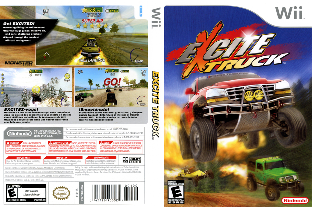 Excite Truck Wii coverfullHQ (REXE01)