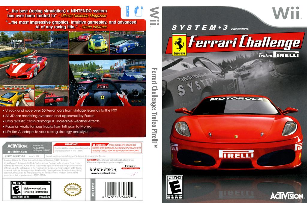 Rf3e52 Ferrari Challenge Trofeo Pirelli