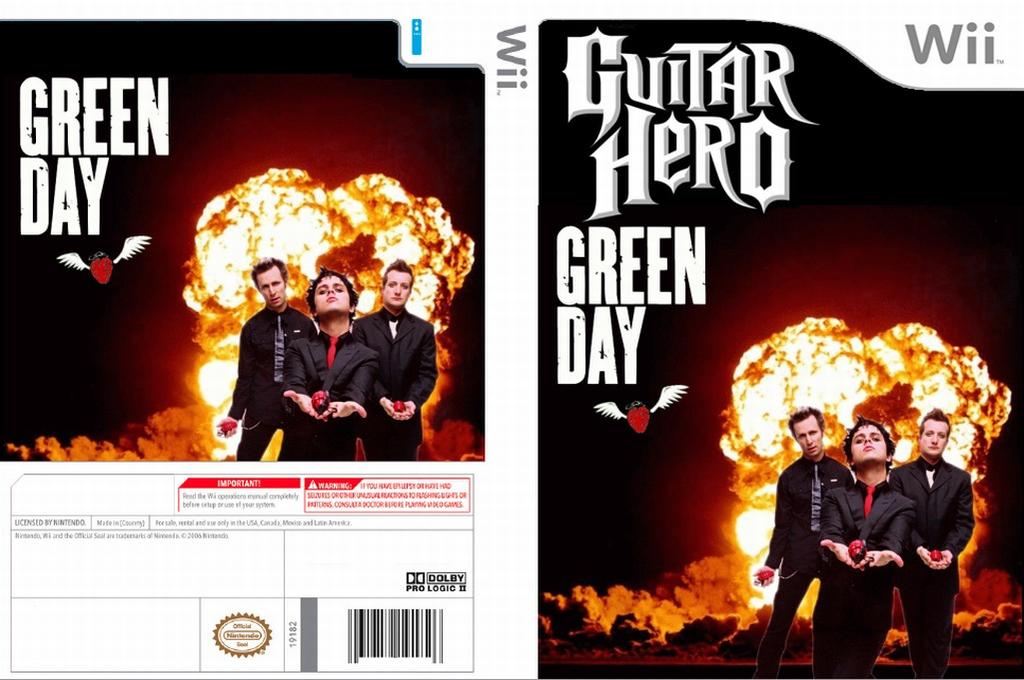 Guitar Hero III Custom:Green Day Plus Wii coverfullHQ (RG0E52)
