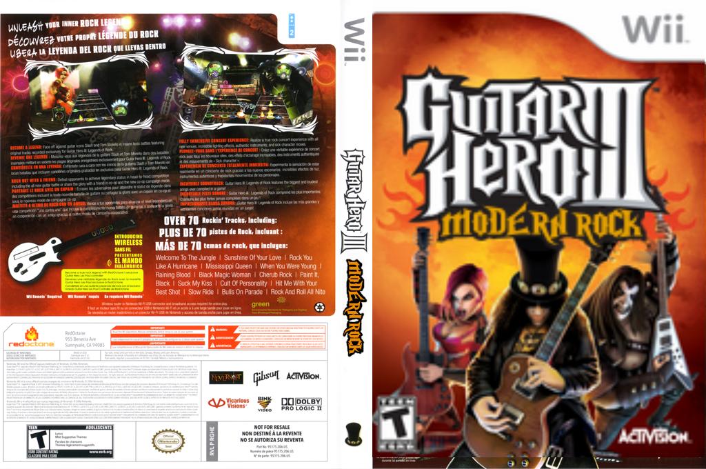 Guitar Hero III Custom:Modern Rock Wii coverfullHQ (RGHEMR)