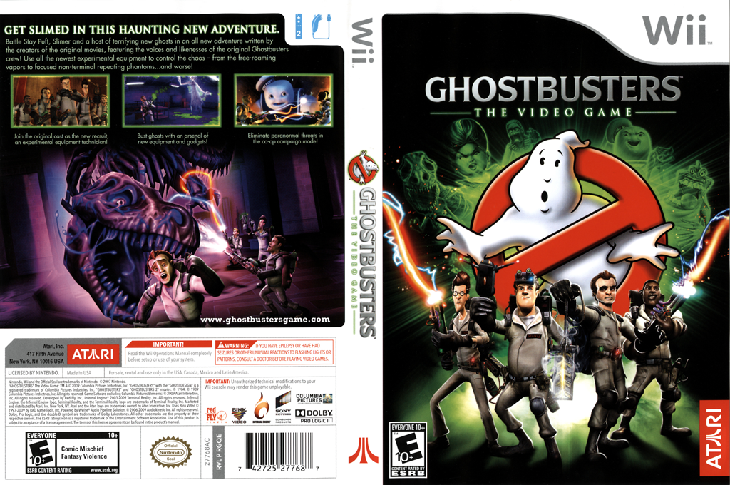 Ghostbusters: The Video Game Wii coverfullHQ (RGQE70)