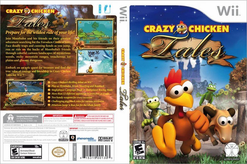 Crazy Chicken Tales Wii coverfullHQ (RHVE5Z)