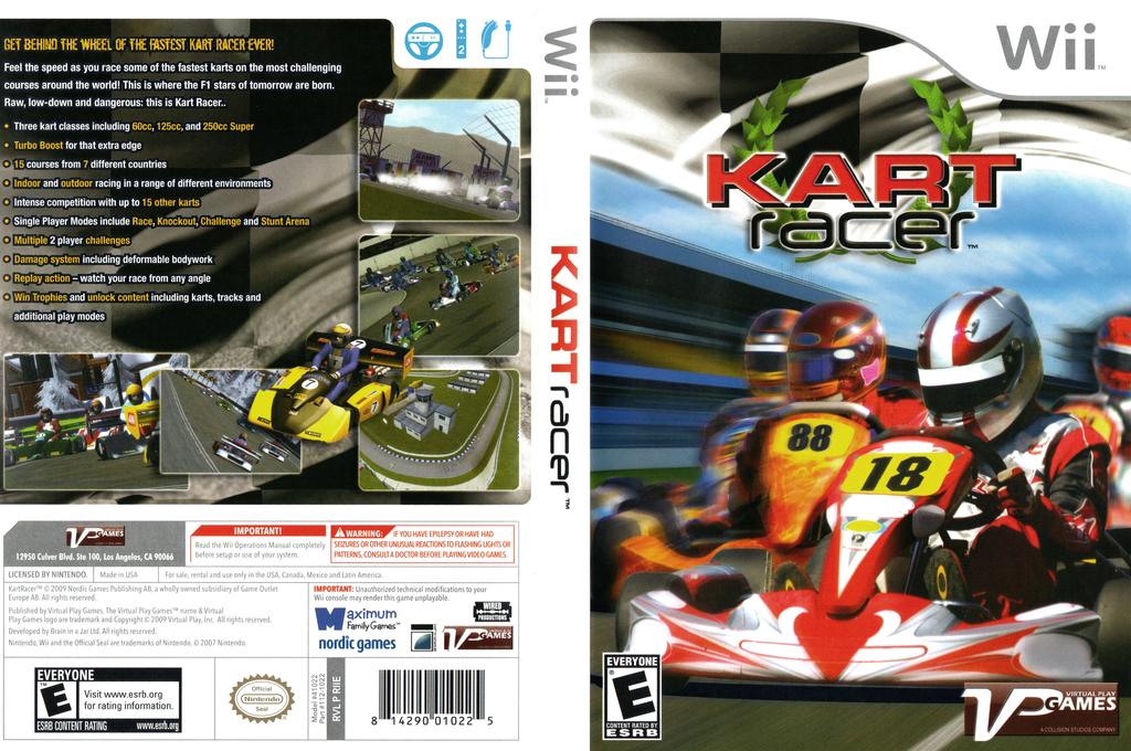 Kart Racer Wii coverfullHQ (RIIEQH)